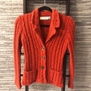 Anthropologie Brand Sparrow Sweater Blazer